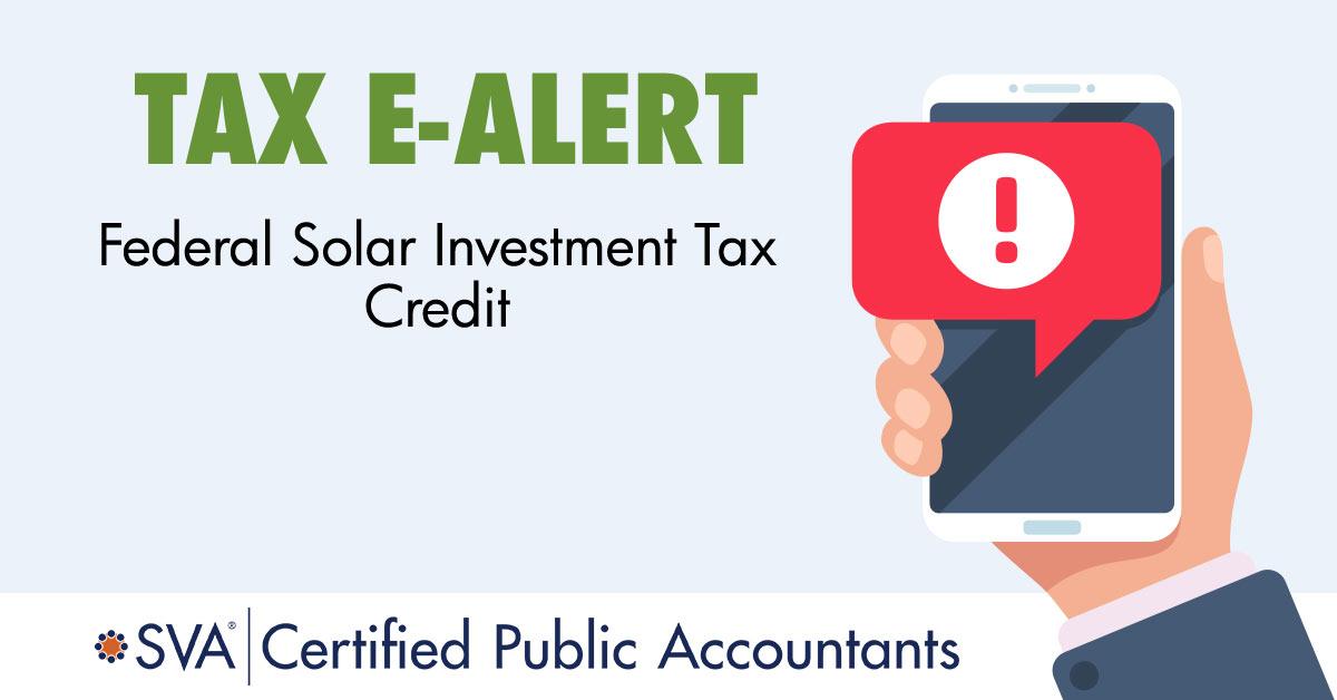 tax-ealert-Federal-Solar-Investment-Tax-Credit